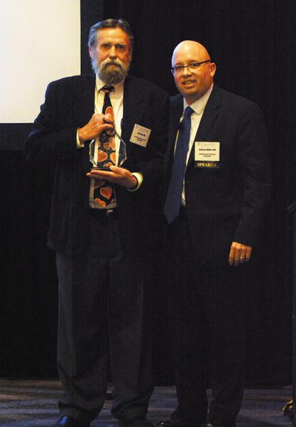 Larry Dye, MD Receives John Burrett, MD Award