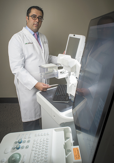 UAB Testing Robotic Platform for Prostate Cancer Detection and Treatment