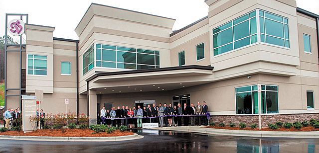 St. Vincent's Celebrates New Trussville Outpatient Center With Ribbon Cutting & Blessing