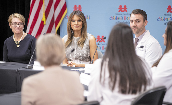 Pediatric Rounds | Pediatrics, Children's Hospital, Pet Therapy, Mars Petcare, Monroe Carell Jr. Children's Hospital at Vanderbilt, Pediatric ER, Autism, The Children's Hospital at TriStar Centennial, First Lady Melania Trump, NAS, Neonatal Abstinence Syndrome