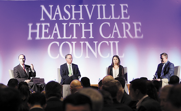 Financing the Deal | Nashville Health Care Council, Financing the Deal, Matt Carroll, WestView Capital Partners, Anna Haghgooie, Sandbox Industries, Paul Wallace, Heritage Group, Tom Wylly, Brentwood Capital Advisors, Hayley Hovious, HIT, Healthcare IT, Healthcare Information Technology