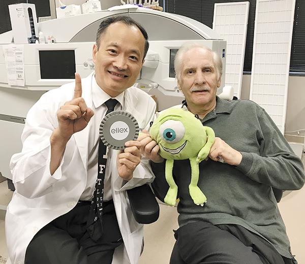Wang Vision Debuts Ellex Laser for Floater Removal | Laser Floater Removal, LFR, Ellex, Visual Floaters, Vitrectomy, Vitreous Detachment, Ming Wang, Wang Vision 3D Cataract & LASIK Center, Tony Ashley