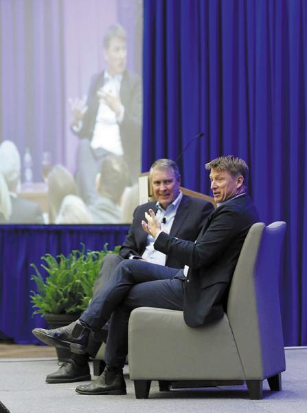 Council Hosts A Conversation with Jonathan Bush | Jonathan Bush, athenahealth, Nashville Health Care Council, Bill Frist, Healthcare Entrepreneurship, Health IT