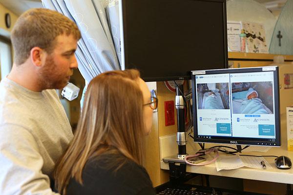 Saint Thomas Adds Webcam Streaming Service to NICU