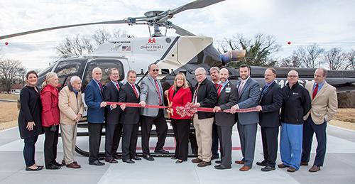 Sumner Regional Celebrates New Helipad