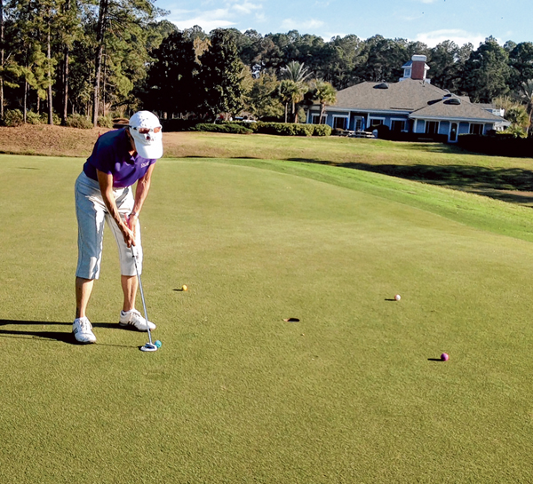 Drills are the best way to practice and perfect putting