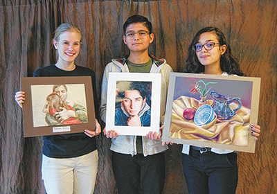 SOBA features art by three high school students in exhibit