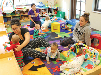 Love kids? Miss yours? Children's Center could use your help