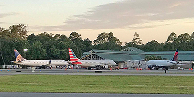 Island airport hits record highs with added carriers, flights