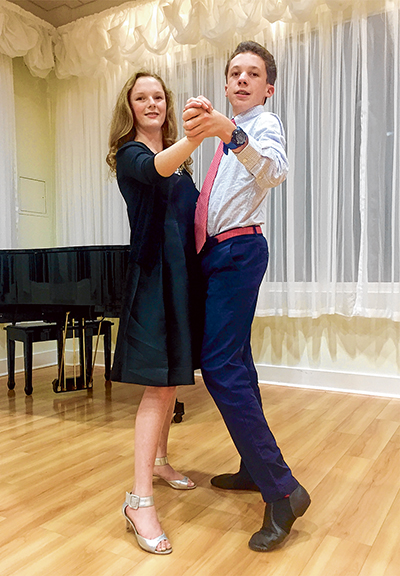 Dancing with the (young) ballroom stars