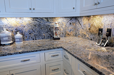 Blue Bahia granite the crown jewel of stone