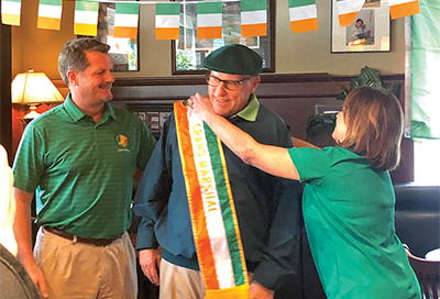 Popular local writer named St. Patrick's parade Grand Marshal