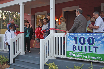 'Excited' a key word for 100th Habitat House in Lowcountry