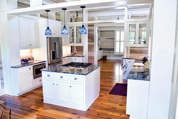 White is a classic color of choice in kitchen design