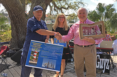 Supporters, auxiliary show appreciation for Coast Guard