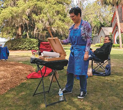 Annual Old Town Bluffton Paint Out is on April 27