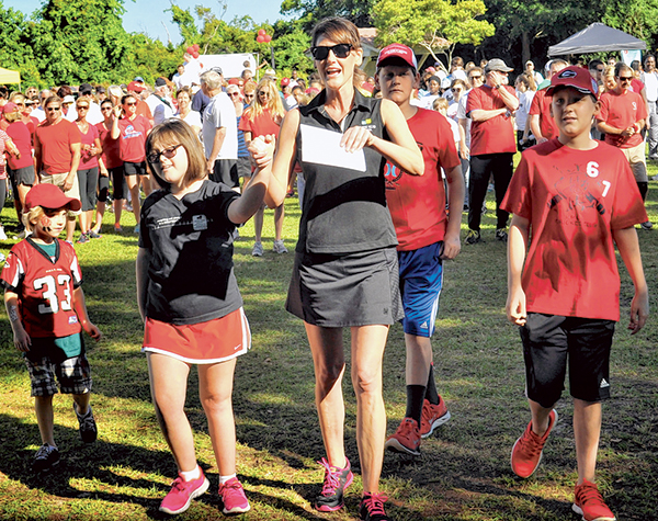 Heart Association kicks off exercise campaign April 6
