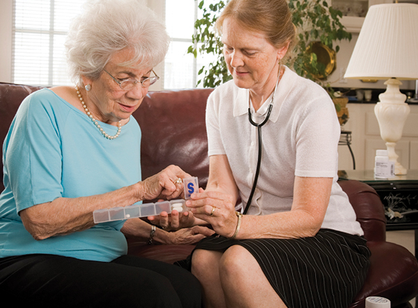 Seniors at risk for errors in prescription management
