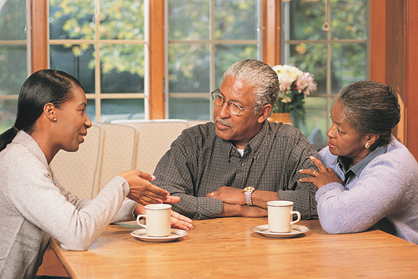 Adult children: Is it time  to have 'the talk' with parents?