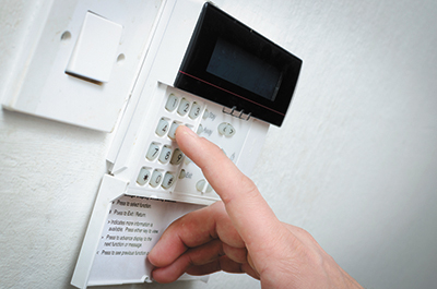 Keep your home safe and sound with a security system