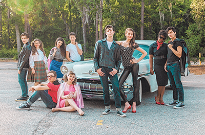 'Grease' is the word for 1950s throwback show