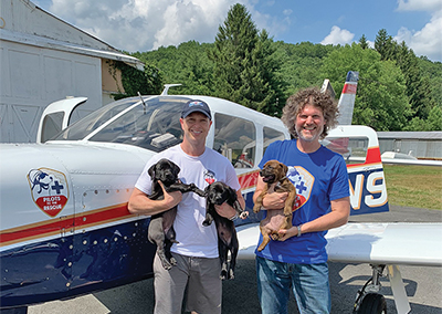 Animal rescue reaches new heights, thanks to pilots