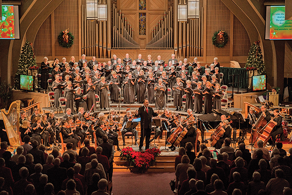 Marking 45 seasons, Choral Society hopes to sing in December