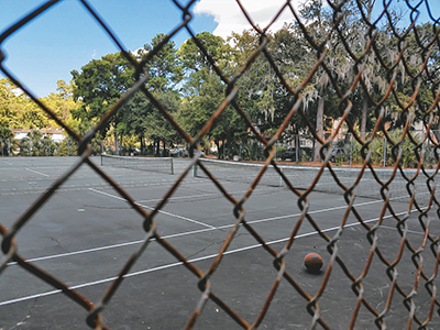 Run-down Cordillo tennis courts to get a facelift