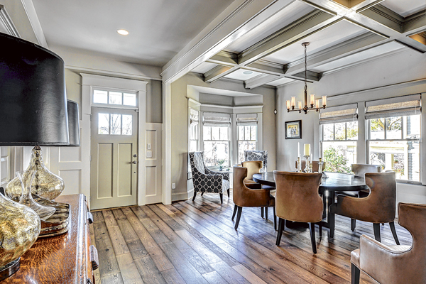 The older, the better for reclaimed wood floors