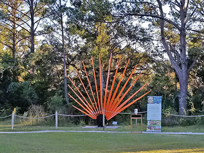 'Setting Sun' latest addition to public art collection