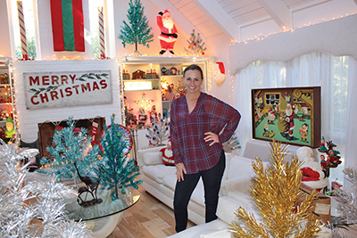 Aluminum tree collection promises a merry vintage Christmas