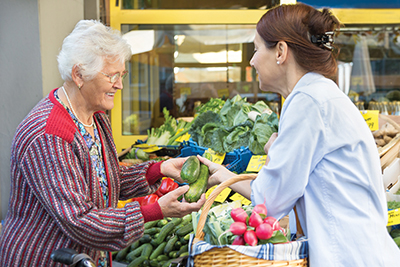 How to encourage a healthy diet for your senior loved one