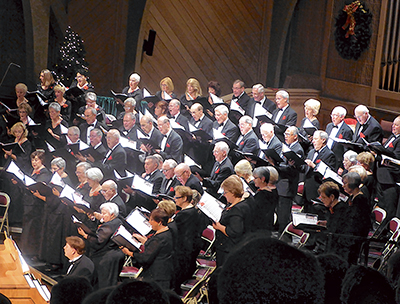 Choral Society rings in season with 'Sounds of Christmas'