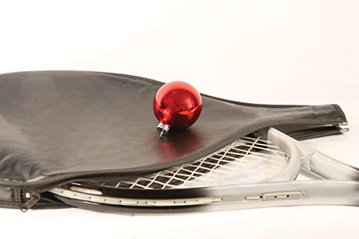 Christmas is a good time to treat yourself to a new racquet