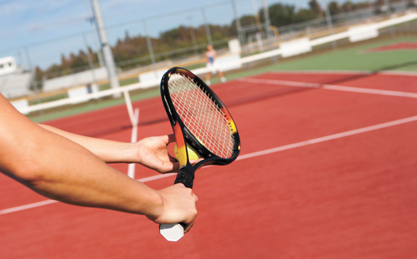 How to 'get a grip'  on your tennis game