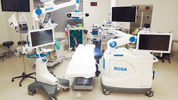 Campbell Clinic First in Memphis to Use ROSA® Robot Knee System on Outpatient Surgeries