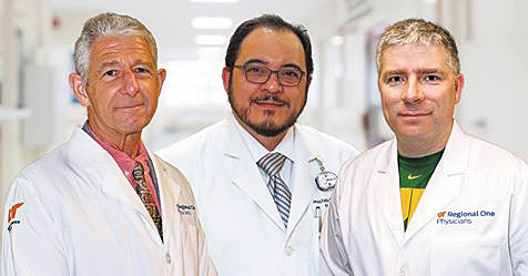 UT Regional One Physicians Welcome Three New Doctors