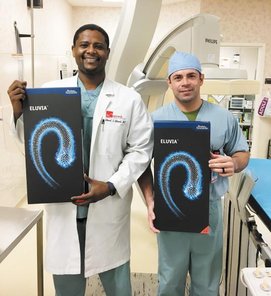 St. Bernards First in Arkansas to Implant New Stent
