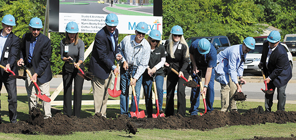 Mercy Hospital Ozark Breaks Ground on $5.13 Million Expansion