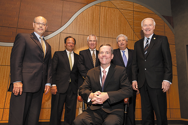UAMS Chancellor Cam Patterson, M.D., MBA, Invested in Harry P. Ward Chancellor's Distinguished Chair