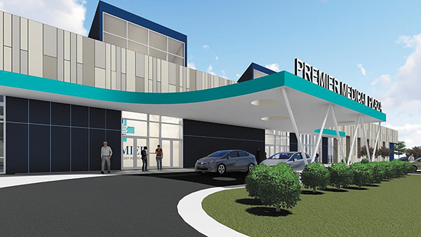 Construction Starting on $35 Million Medical Facility
