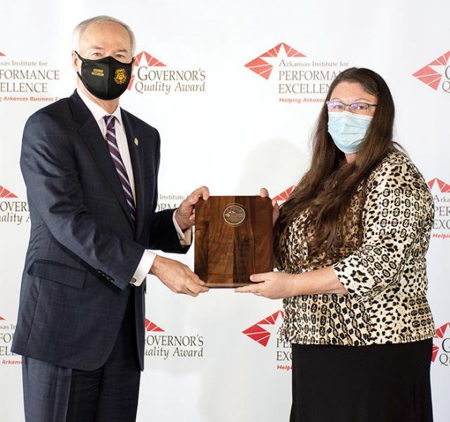 Medical Center of South Arkansas Receives Governor's Quality Award