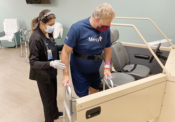 Mercy Opens Unit Dedicated to Orthopedic and Spine Patients