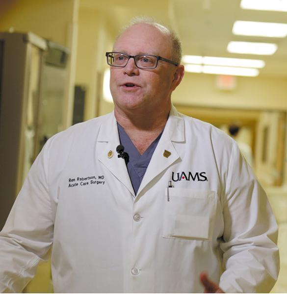 UAMS Trauma System Saves Lives and Taxpayers' Money