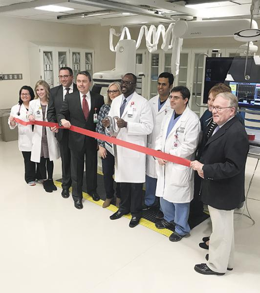 Sparks Celebrates Opening Of New Cath Lab