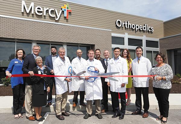 Mercy Clinic Orthopedics and Mercy Sports Medicine Celebrate New Facility
