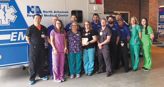 North Arkansas Regional Medical Center Receives Site Excellence Award