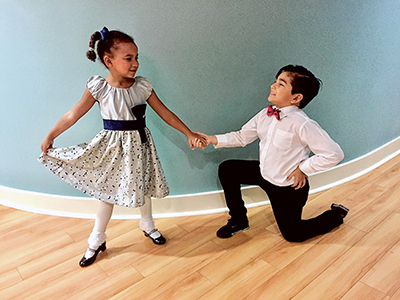 Dancers of all ages learn other skills besides steps and moves