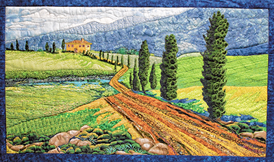 'Tales in Thread' art quilts were inspired by words