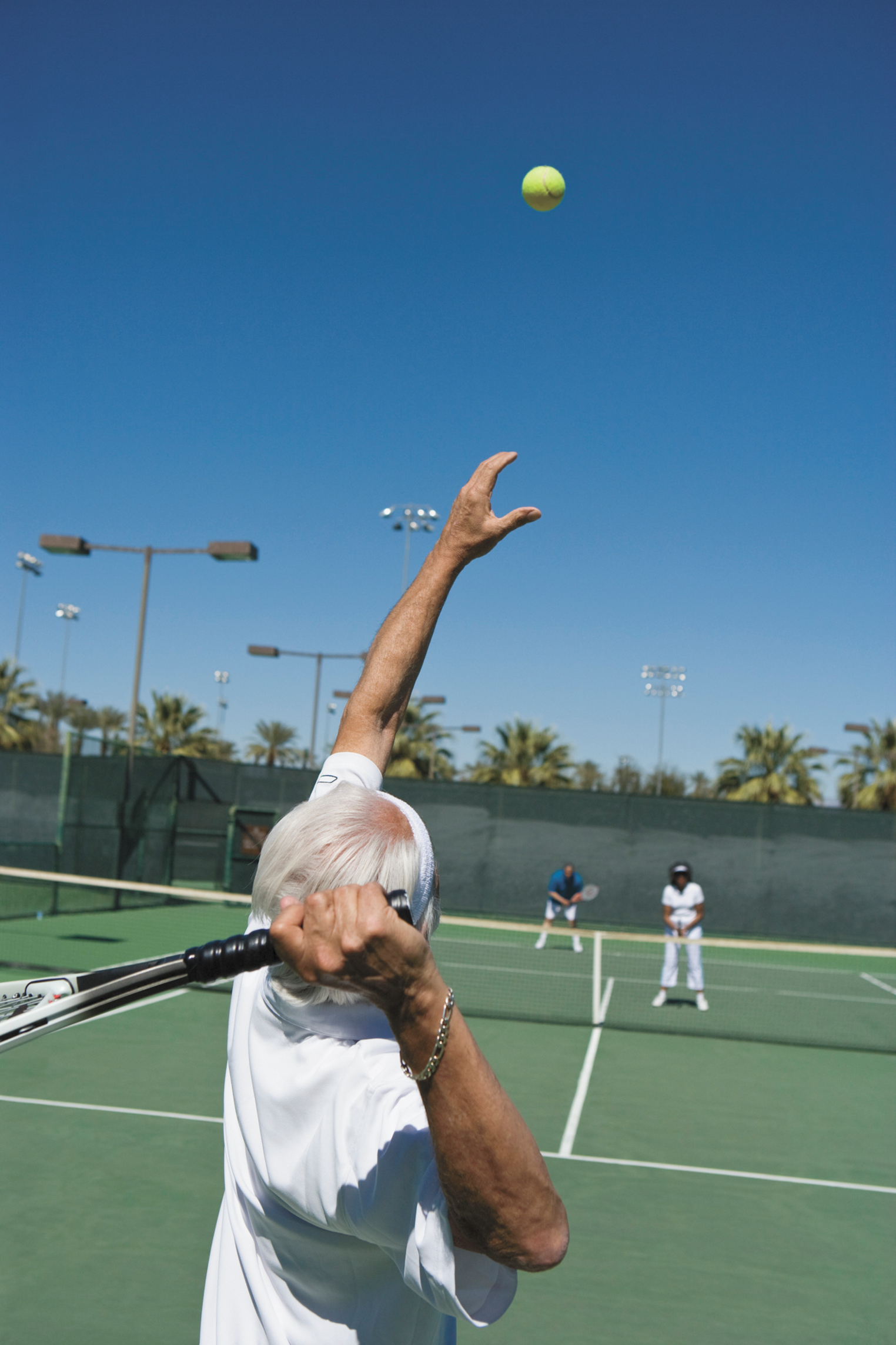 Trouble with your serve? Chin up - it'll get better